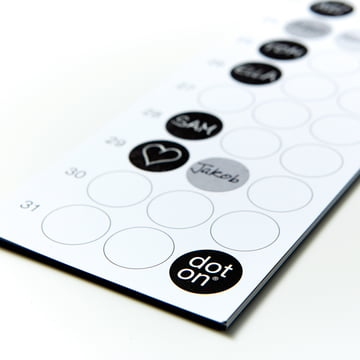 Dotty Edition - dot on 12x1 b-day | Geburtstagsplaner 2015