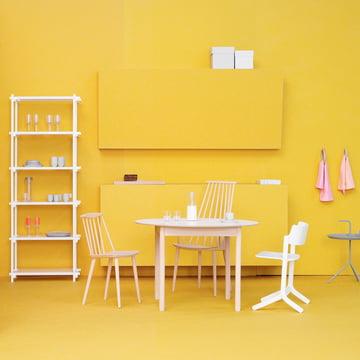 c44 tisch rund von hay im design shop. Black Bedroom Furniture Sets. Home Design Ideas