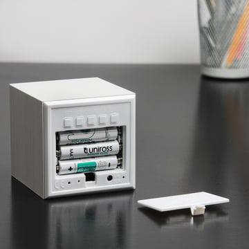 Gingko - Cube, weiß / LED weiß, Batterien
