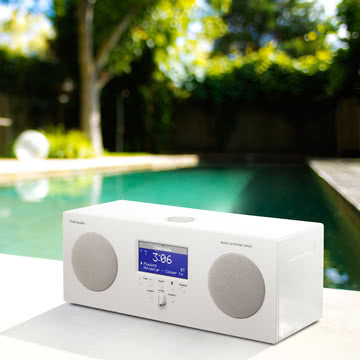 Tivoli Audio - Music System 3, weiß