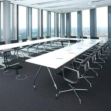 Konferenzstühle - Aluminium Group EA 117 Bürostuhl von Vitra