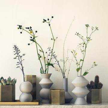 Hexagon vase und Topf von ferm Living