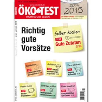 ÖKO TEST 1/2015 Cover