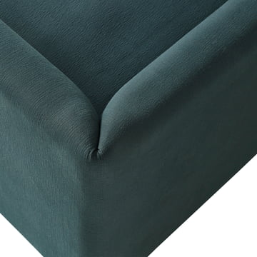 Hay - Hackney Sofa, Bellagio-petrol