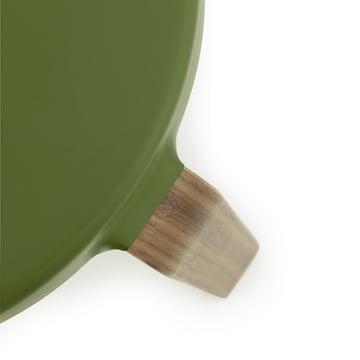 Normann Copenhagen - Tap Hocker, Nussbaum / olivgrün