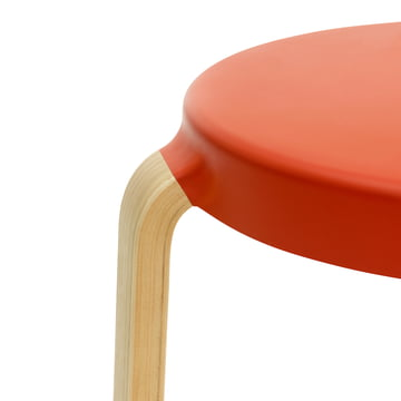 Normann Copenhagen - Tap Hocker, Eiche / spicy orange