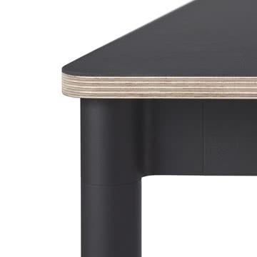 Base Table von Muuto in schwarz