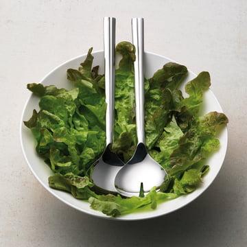Grand Cru Salatbesteck und Glasschale von Rosendahl