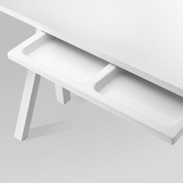 String - Works Schreibtisch, weiß