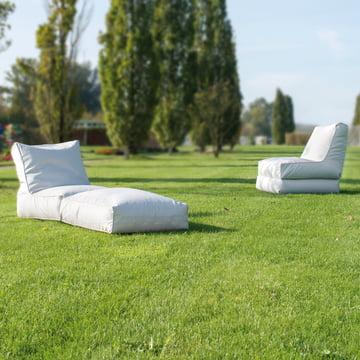 Liege und Sessel für den Außenbereich