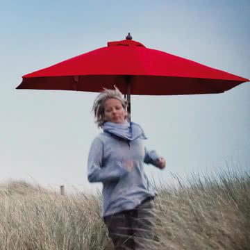 Jan Kurtz - Maui Sonnenschirm, rot