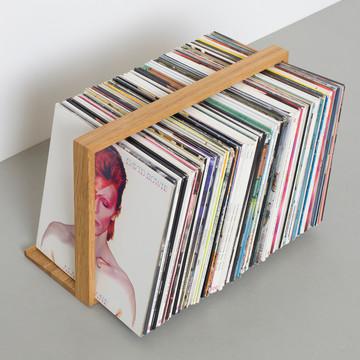 plattenregal bseite von das kleine b im shop. Black Bedroom Furniture Sets. Home Design Ideas