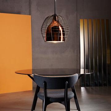 Diesel Living - Cage Pendelleuchte groß, bronze / schwarz