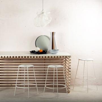 OK Design - Acapulco Barstool, weiß