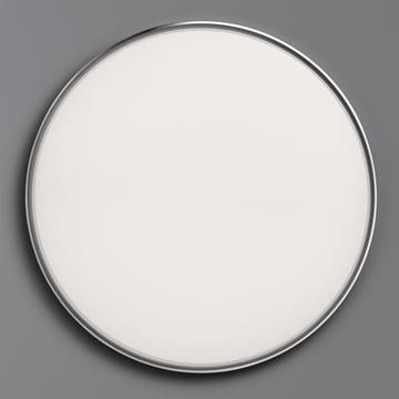 Flos - Clara Wand- und Deckenleuchte LED, weiß mit Dekoring Chrom