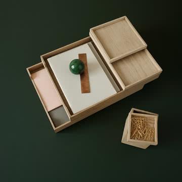 Schreibtischorganisation von Skagerak