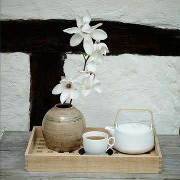 Teezeremonie im nordischen Stil