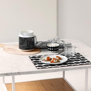 Schwarz und Weiß zum Frühstück