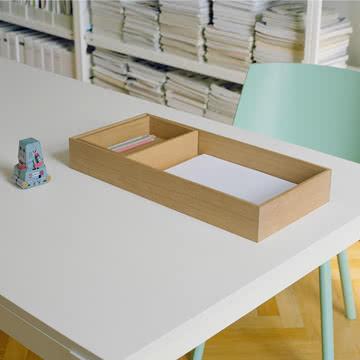 Praktische Schreibtischablage