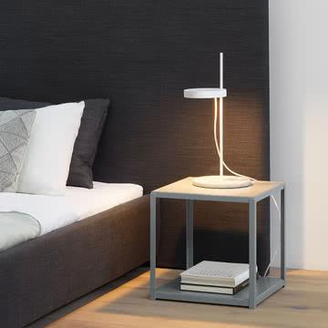 Minimalistischer Nachttisch