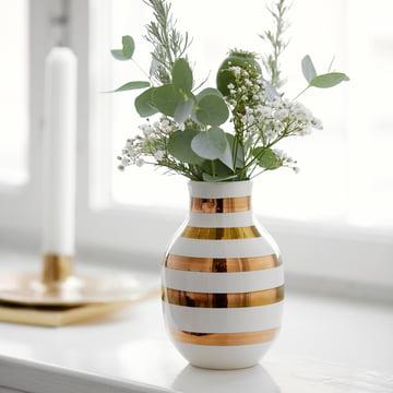 Omaggio Vase H 125 in Gold