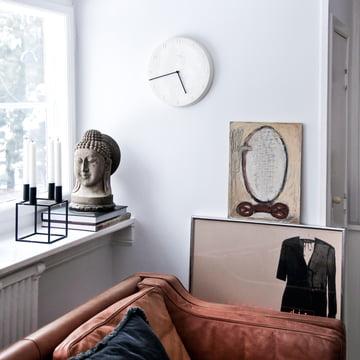 ora wanduhr 30 cm von k hler design connox. Black Bedroom Furniture Sets. Home Design Ideas