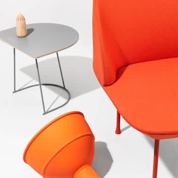 Unfold Pendelleuchte von Muuto in Orange