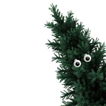 Corpus Delicti - Baumkugel Auge (2er-Set), weiß