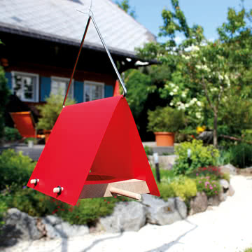 Design im Dorf - Vogelfutterhaus