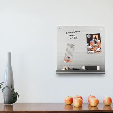 Beschriftbares Magnetbrett für Zuhause
