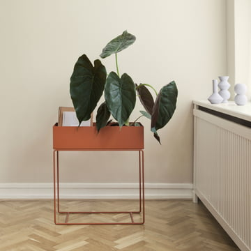 Plant Box von ferm Living in Orange