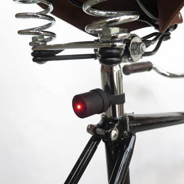 Das Lucetta Fahrradlicht mit Halterung