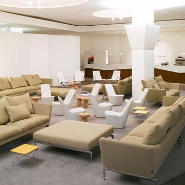 Vitra Möbel für das Wohnzimmer