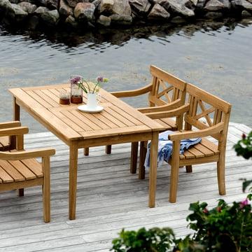 Tisch als Ergänzung zur Drachmann-Kollektion