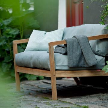 Virkelyst Sofa für den Garten