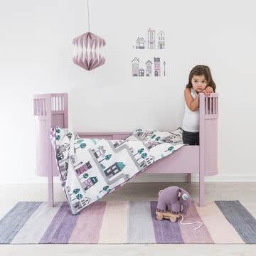 Bettwäsche für kleine Großstadtentdeckerinnen
