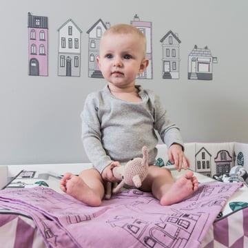 Baby-Spucktücher von Sebra sind vielseitig einsetzbar