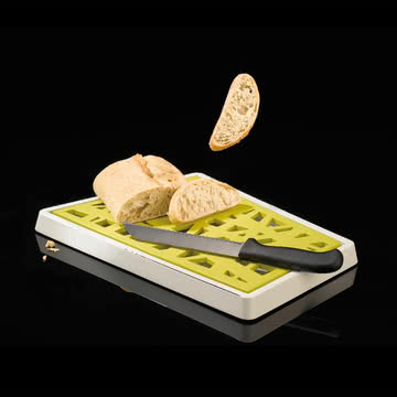 Koziol - Matrix Brotschneidebrett mit Krümelfach