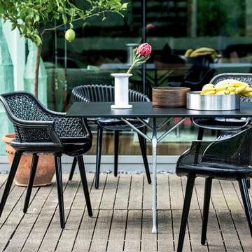 Cyborg Stühle & Officina Table