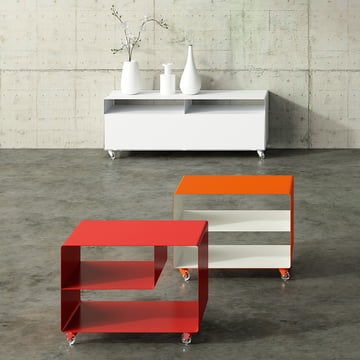 Müller Möbelfabrikation - RW 109 Sideboard, verkehrsweiß