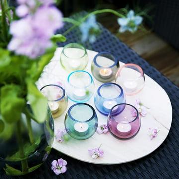 Klare Formgebung und frohe Farben