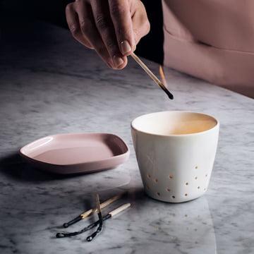 Iittala X Issey Miyake - Teelichthalter 70 mm, Teller 11 x 11 cm