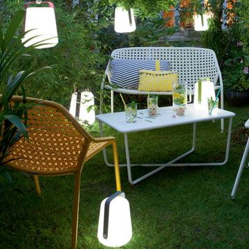 Fermob Akku-LED-Leuchte: Leicht zu transportieren und äußerst flexibel