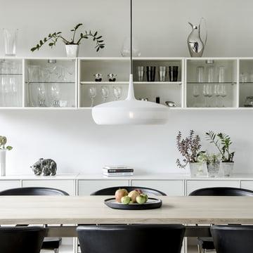 Clava Dine von Vita in matt Weiß