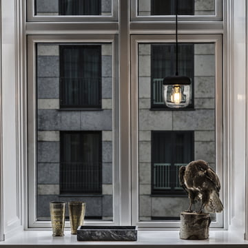 Acorn Pendelleuchte aus Glas, Silikon und mit einem Metallic-Finish