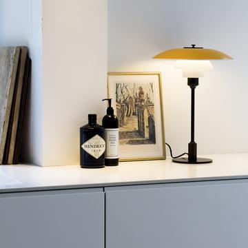Design der Leuchte stammt von Poul Henningsen