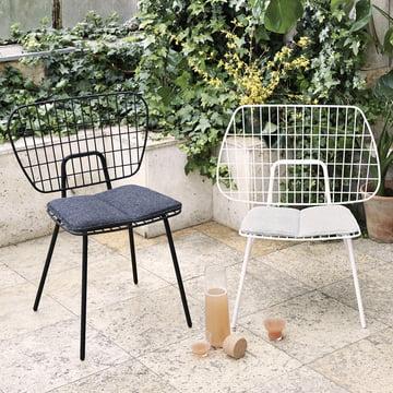 Menu - WM String Dining - Lounge Chair von Menu