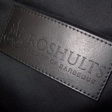 Detailansicht der BBQ Schürze von Röshults