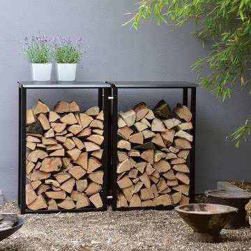 Der Holzmichel Kaminholzstapler von Jan Kurtz