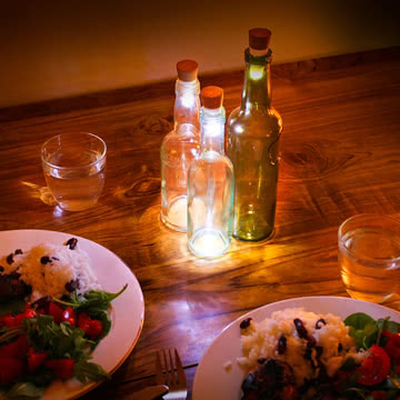 Bottle Light LED Flaschenlicht von Suck Uk